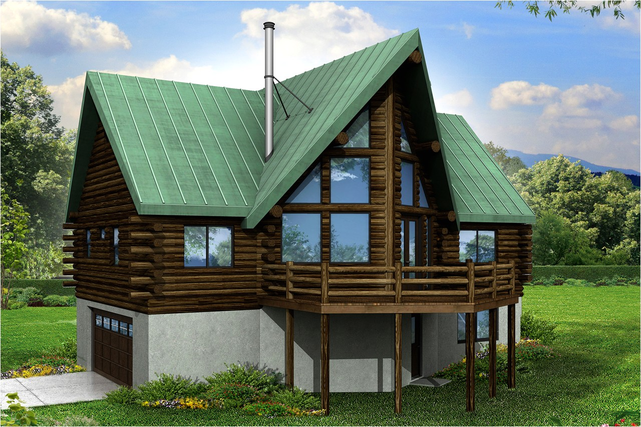 new a frame house plan has room grow