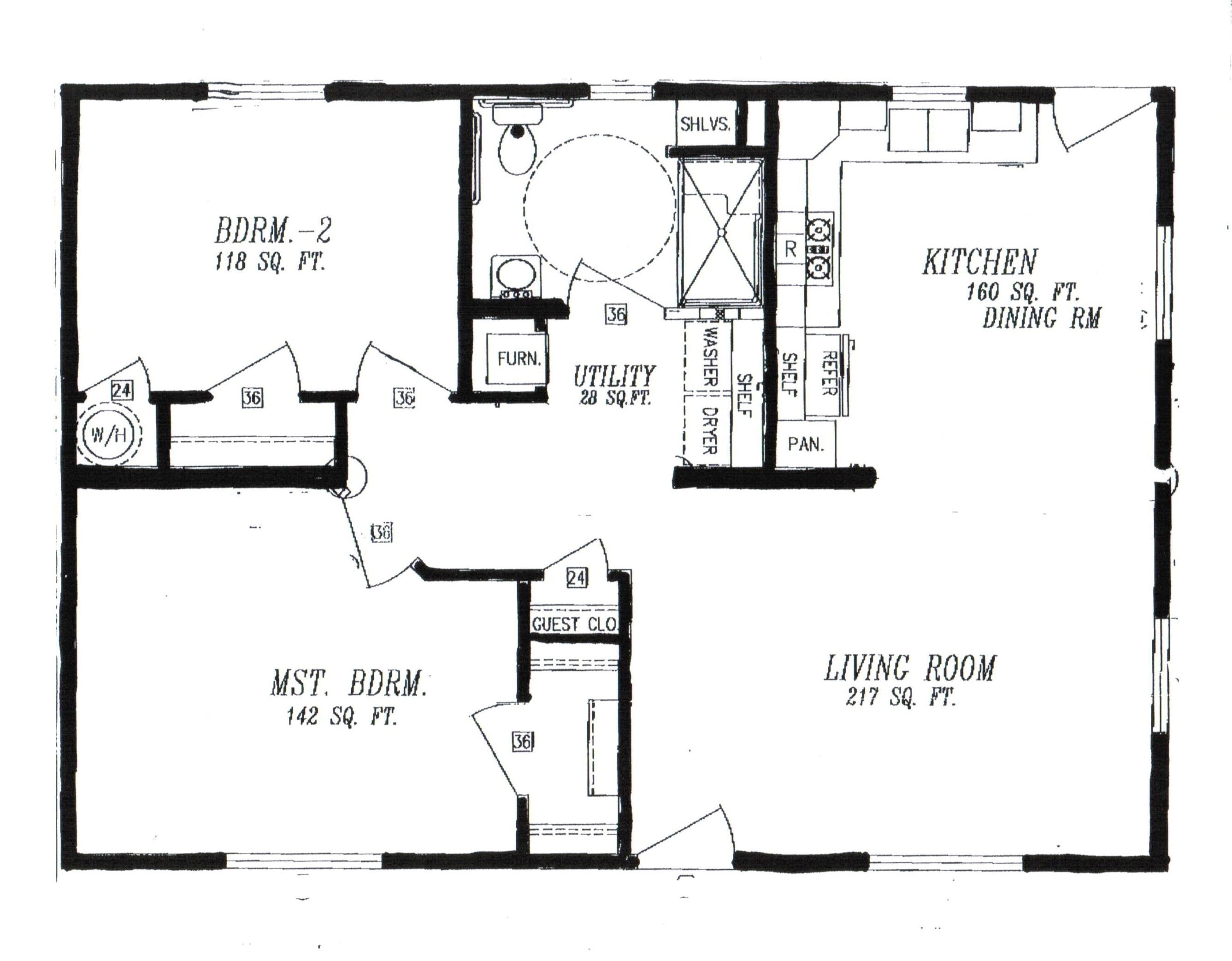 Ada Home Floor Plans Columbia Manufactured Homes