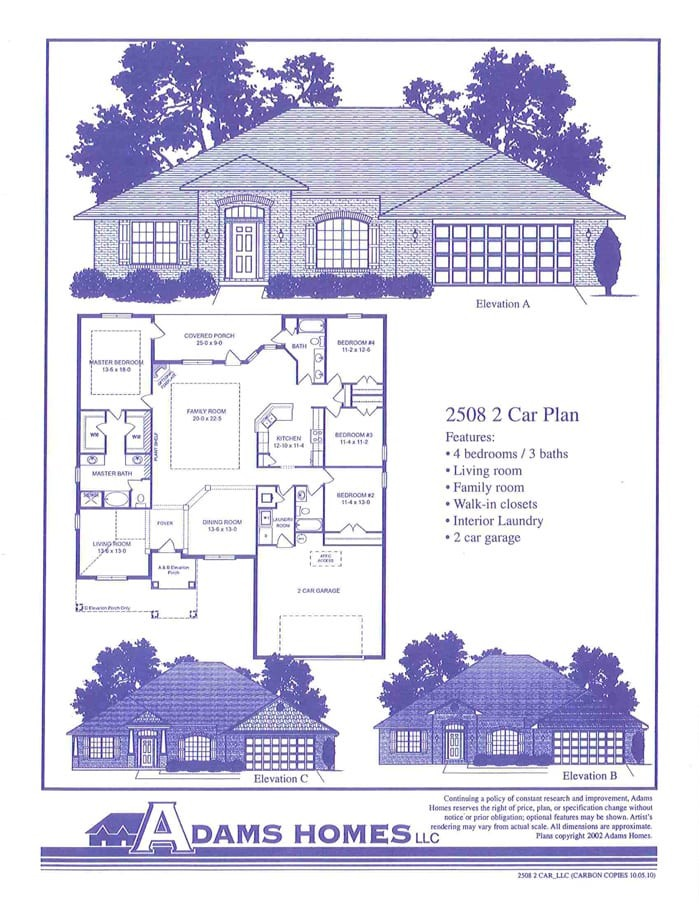 featured home adams homes 2508