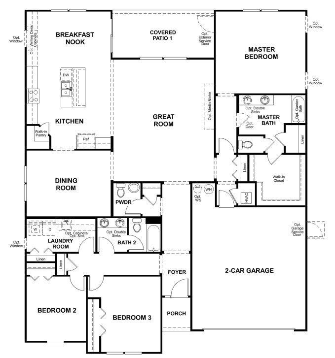 American Home Builders Floor Plans New Richmond American Homes Floor Plans New Home Plans