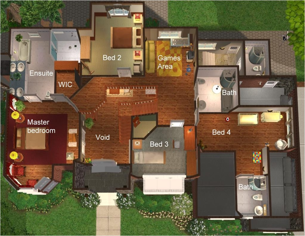 new american house plans with photos