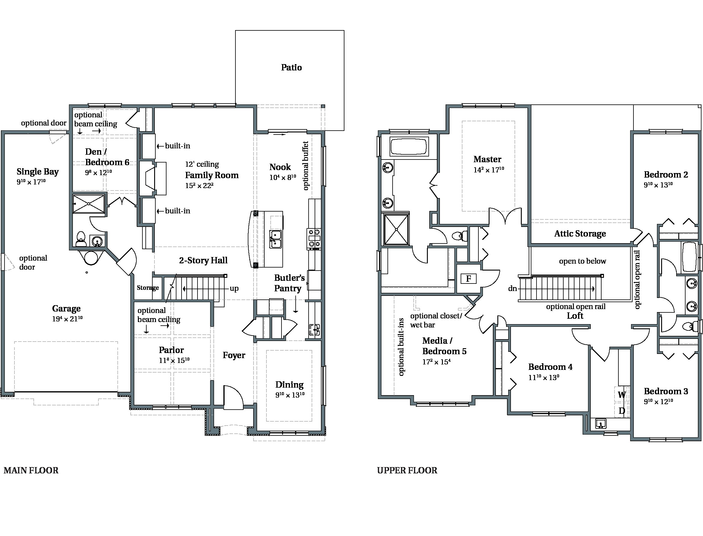 arbor homes floor plans indiana