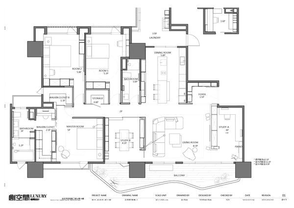 luxury asian home floor plan