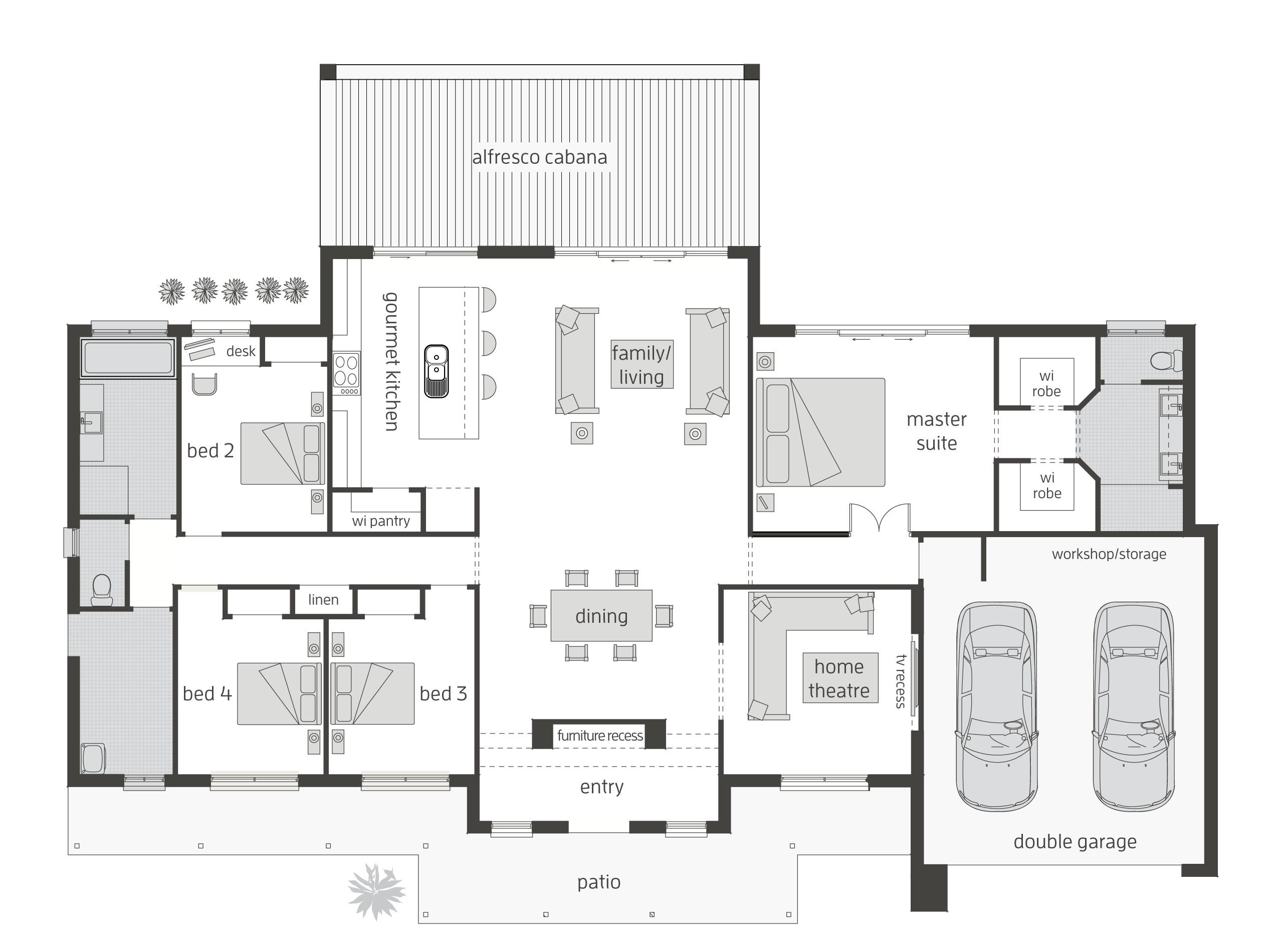 home designs australia floor plans