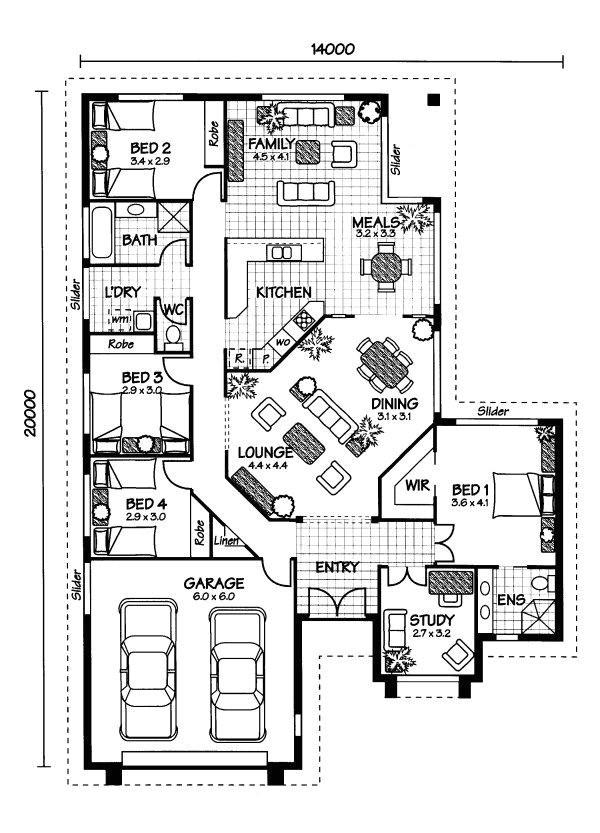 home plans australia floor plan