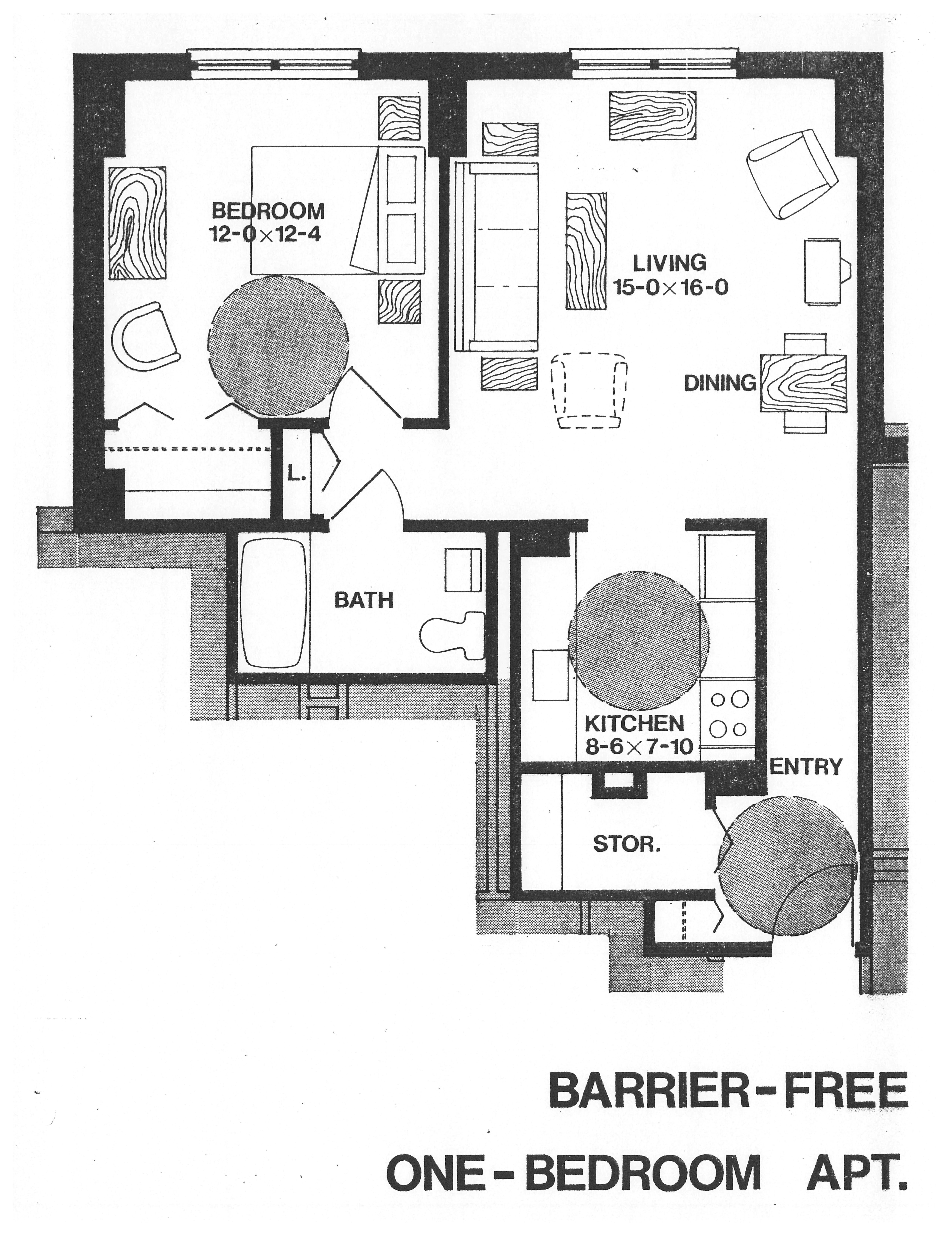 barrier free bathroom floor plans