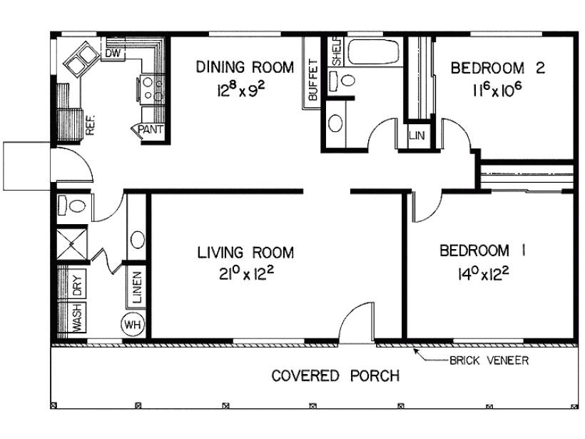 Basic Home Plans Basic House Plans Smalltowndjs Com