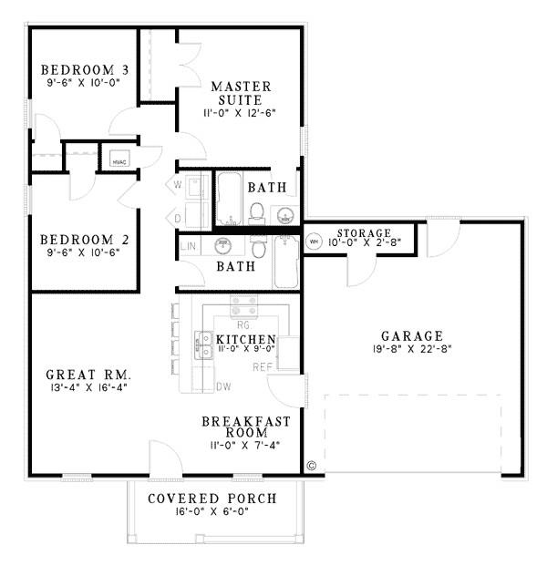 lovely basic home plans 10 basic simple ranch house floor plans