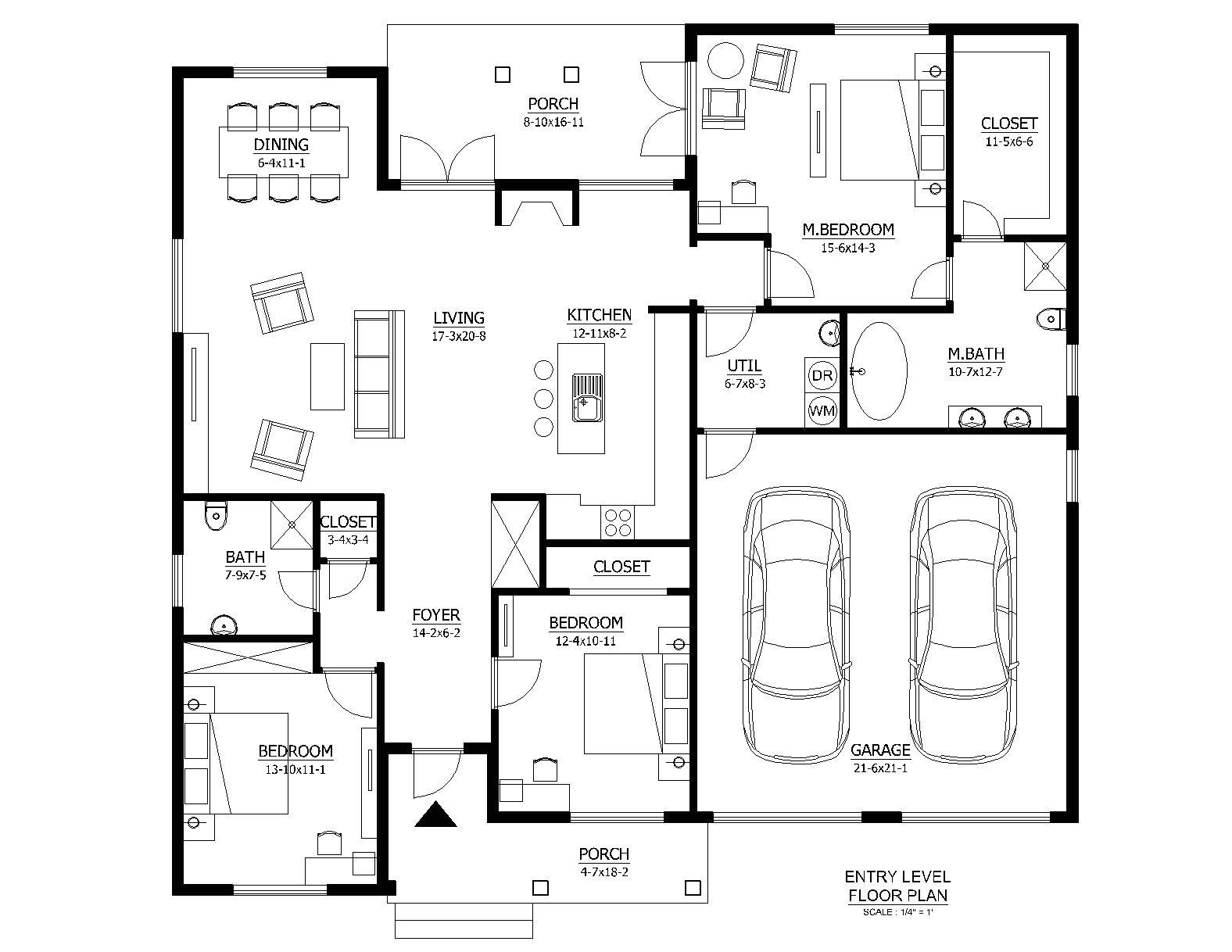 nice basic home plans 4 basic house plans