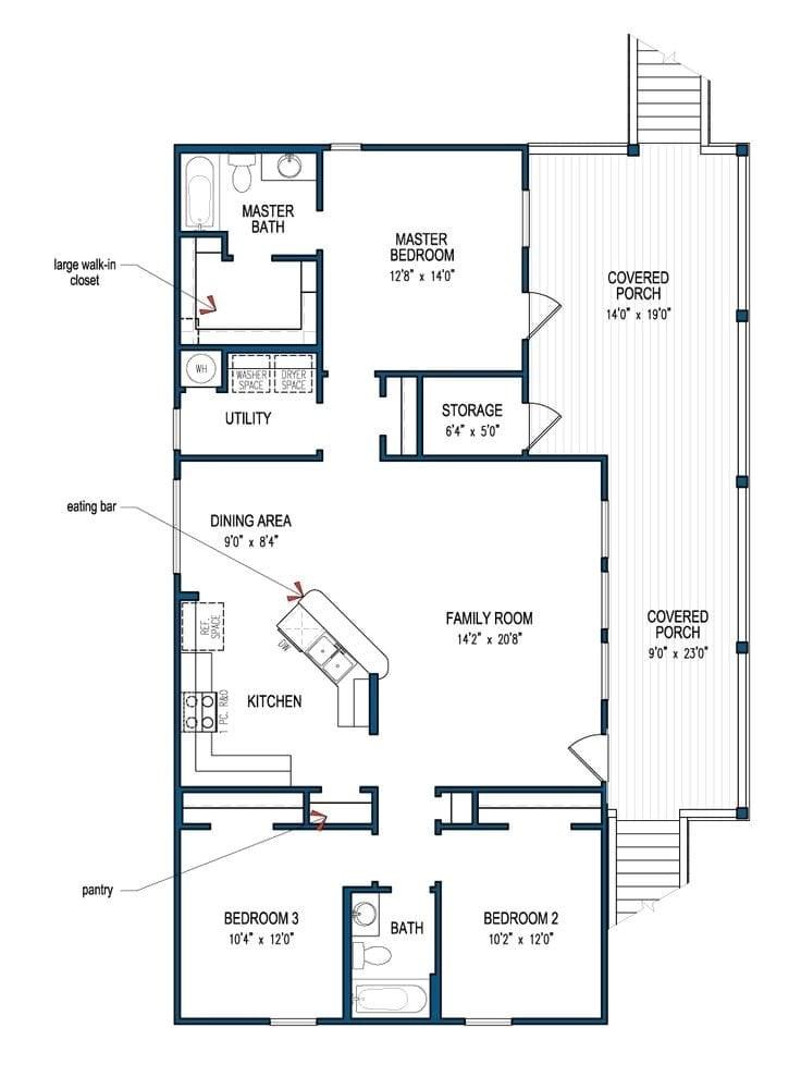 3 bedroom beach house plans luxury best 25 beach house plans ideas on pinterest