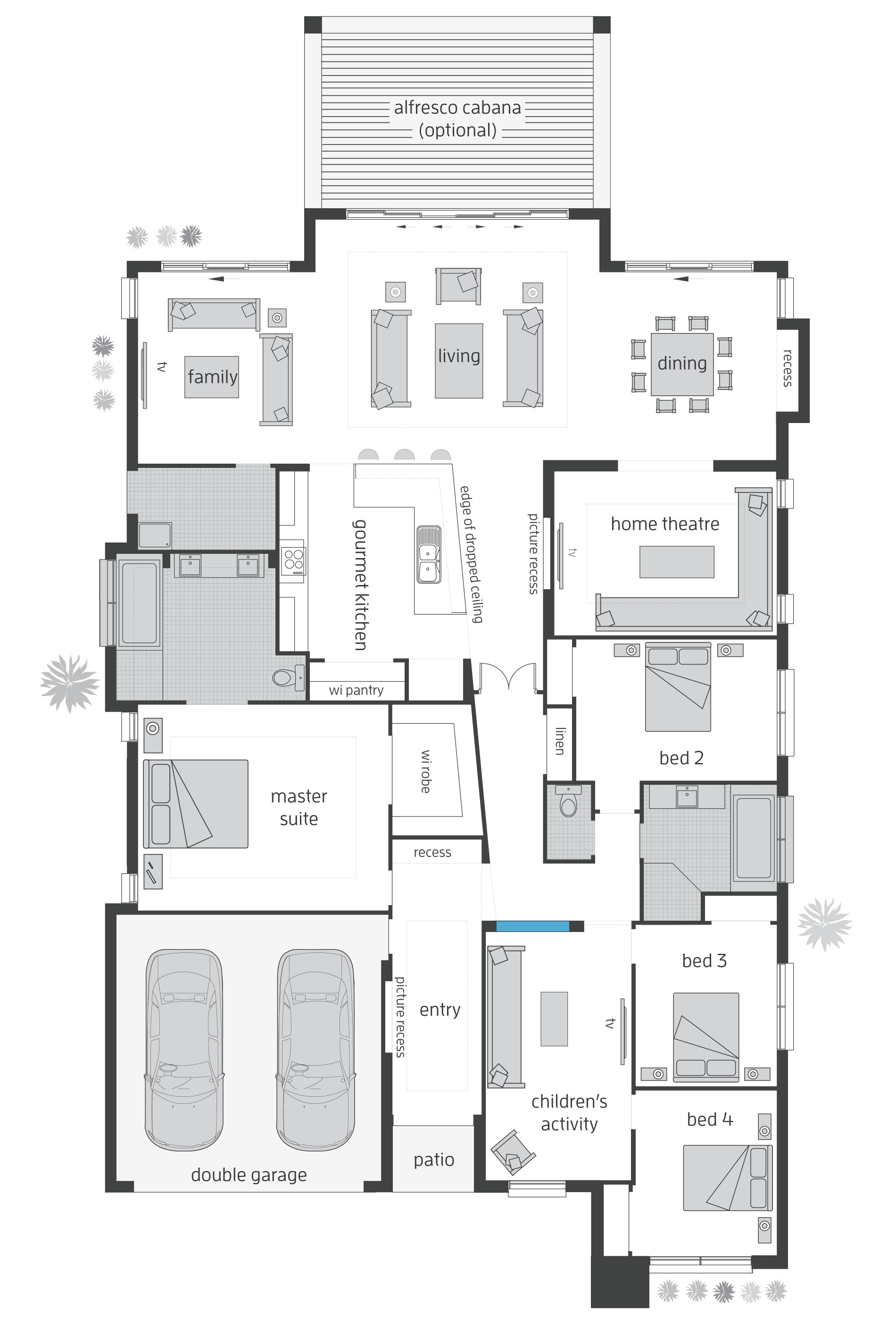 Beach Homes Floor Plans Beach House Floorplans Mcdonald Jones Homes