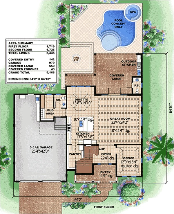 open and inviting beach house plan 66307we