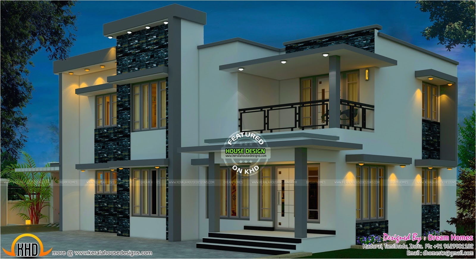 beautiful south indian home design