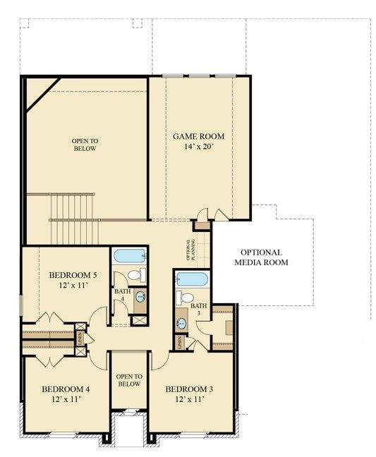 beazer homes floor plans 2007
