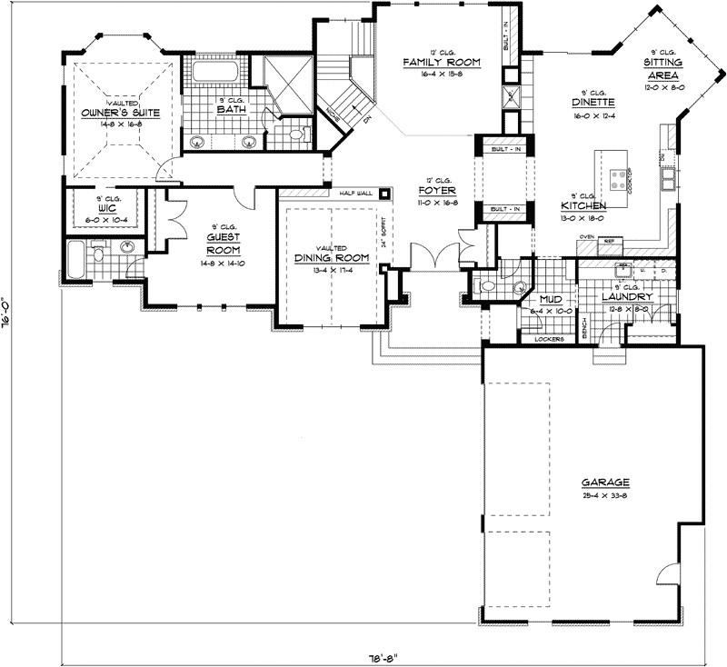 best ranch house floor plan