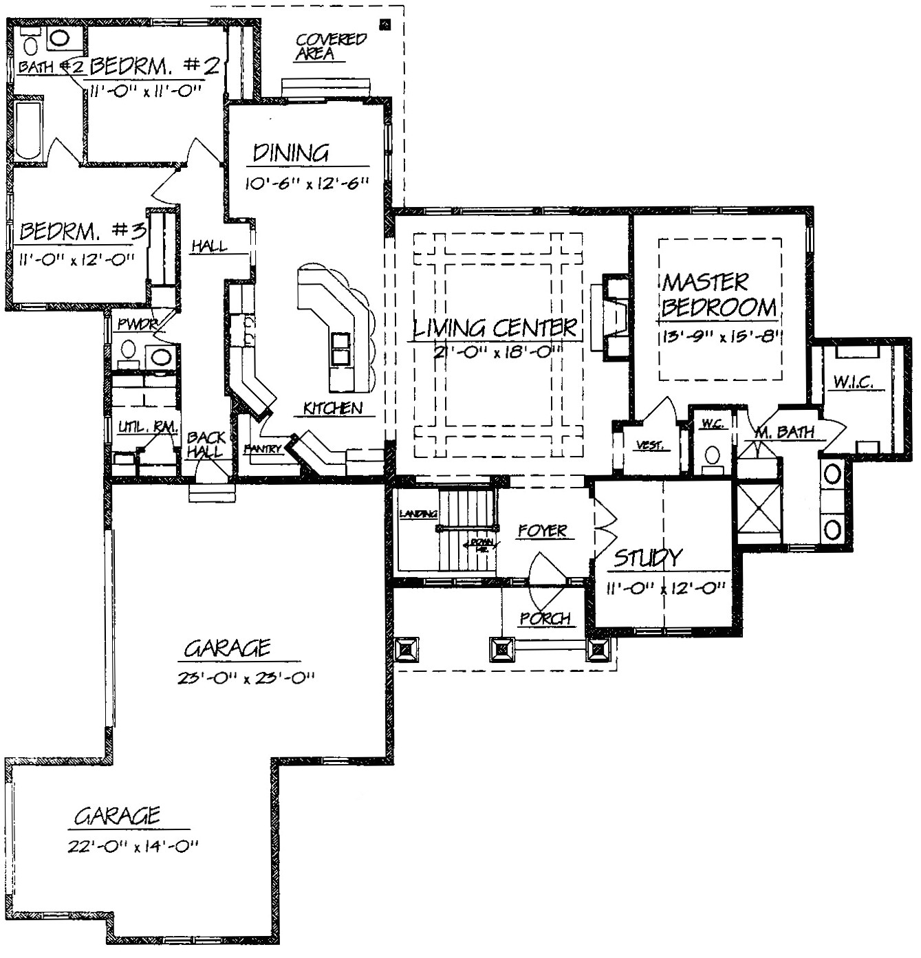 best ranch style home floor plans