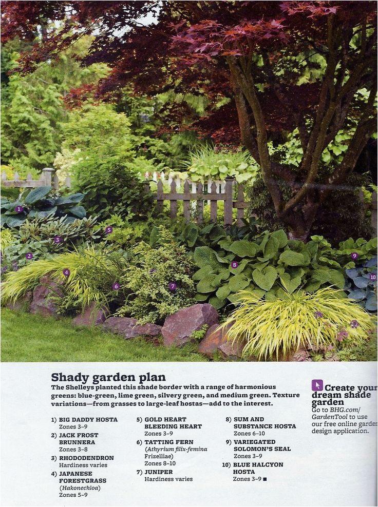 better homes and gardens perennial garden plans
