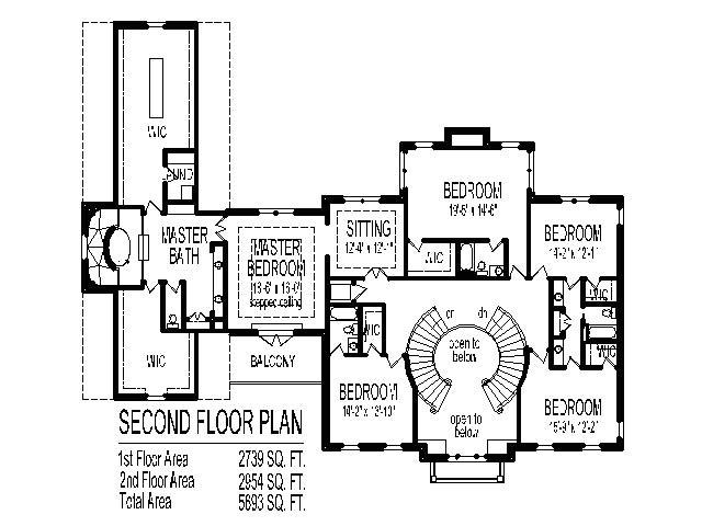 big double storey house plans