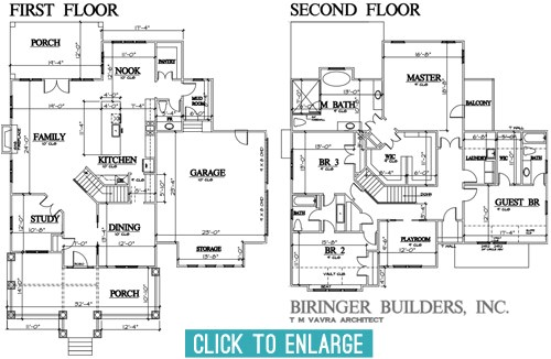 laying showhouse plans