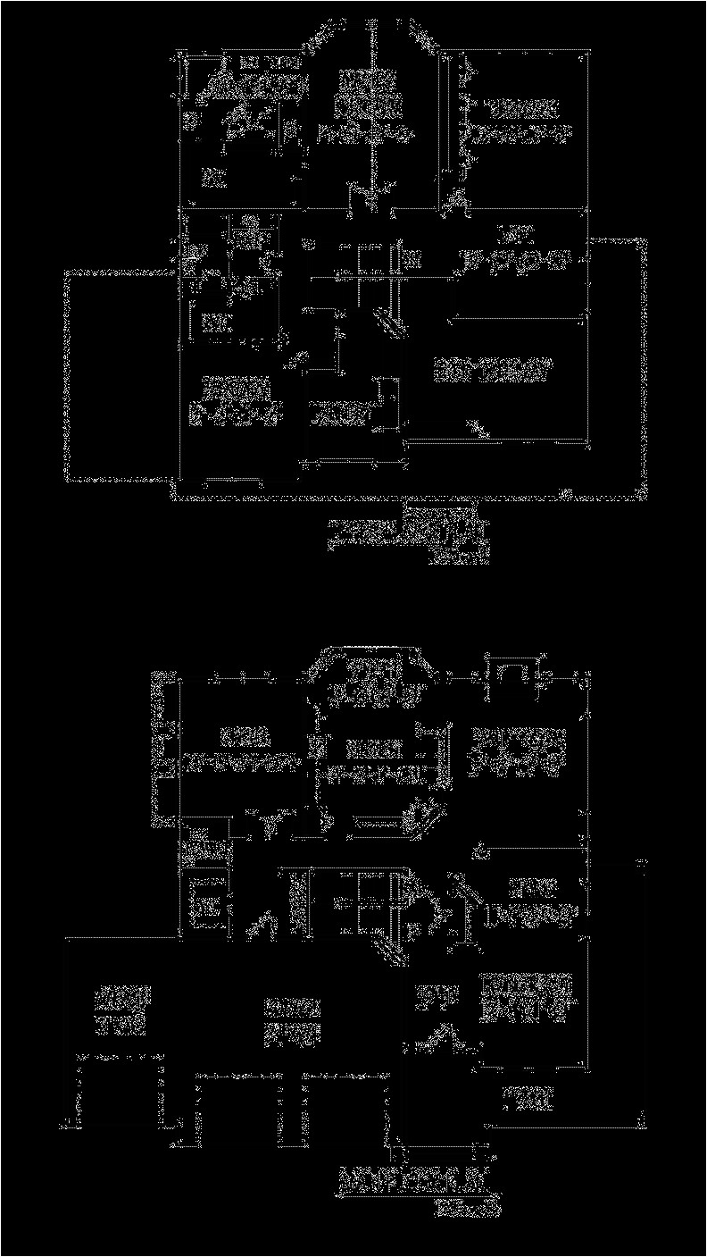 Big House Floor Plans 2 Story Two Story House Plan