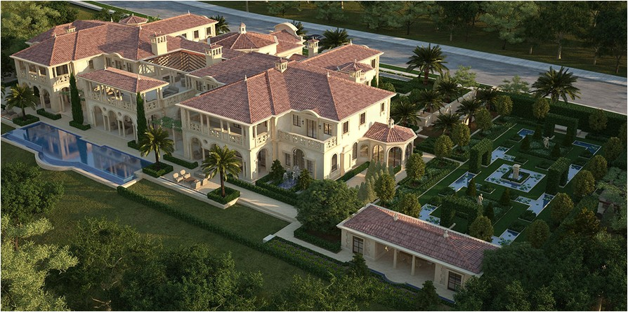 55000 square foot mega mansion being built in newport beach ca