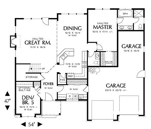 blandford homes floor plans best of blandford 5247 4 bedrooms and 2 baths the house designers