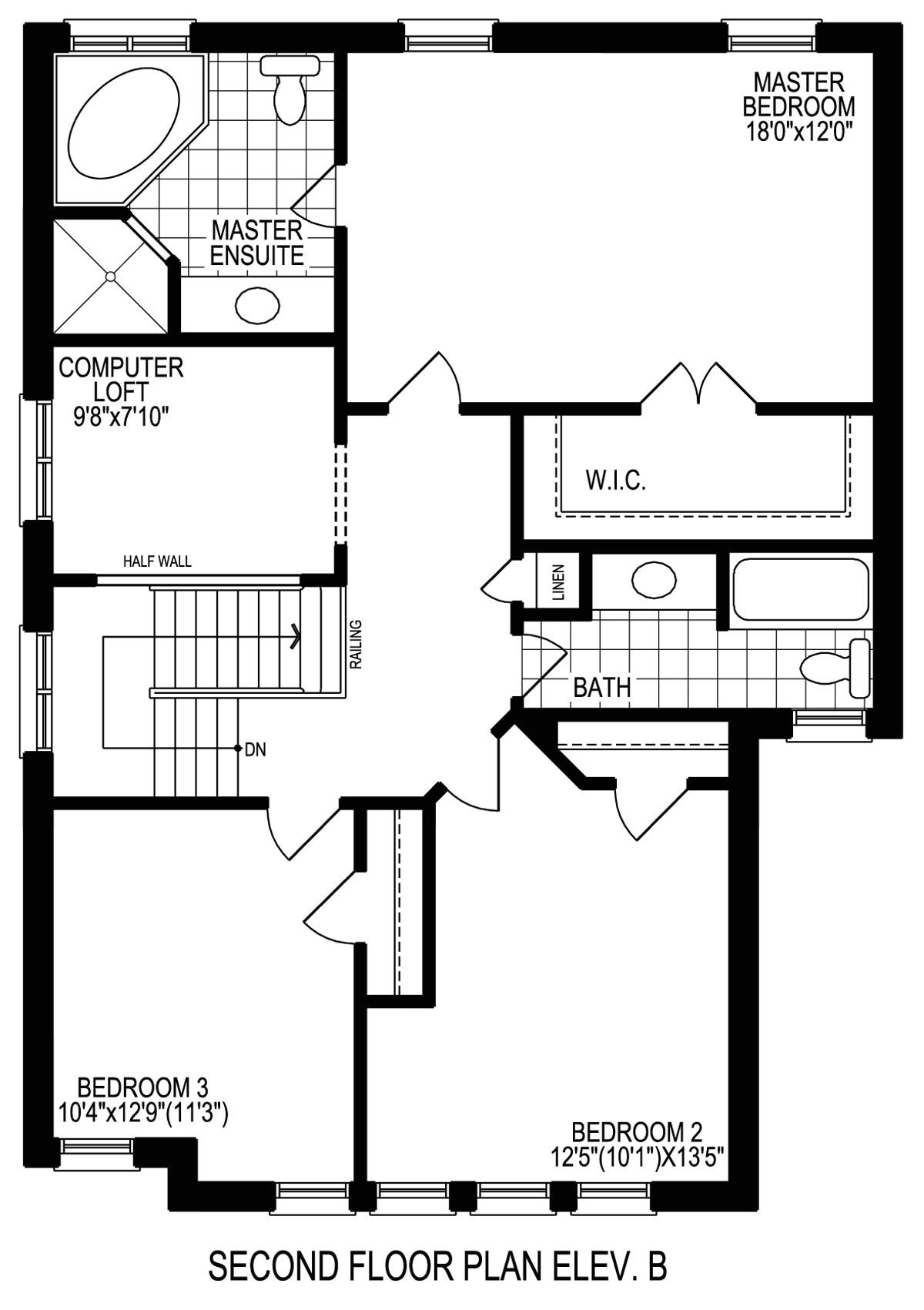 Brookfield Homes Floor Plans Brookfield Homes tottenham Floor Plan