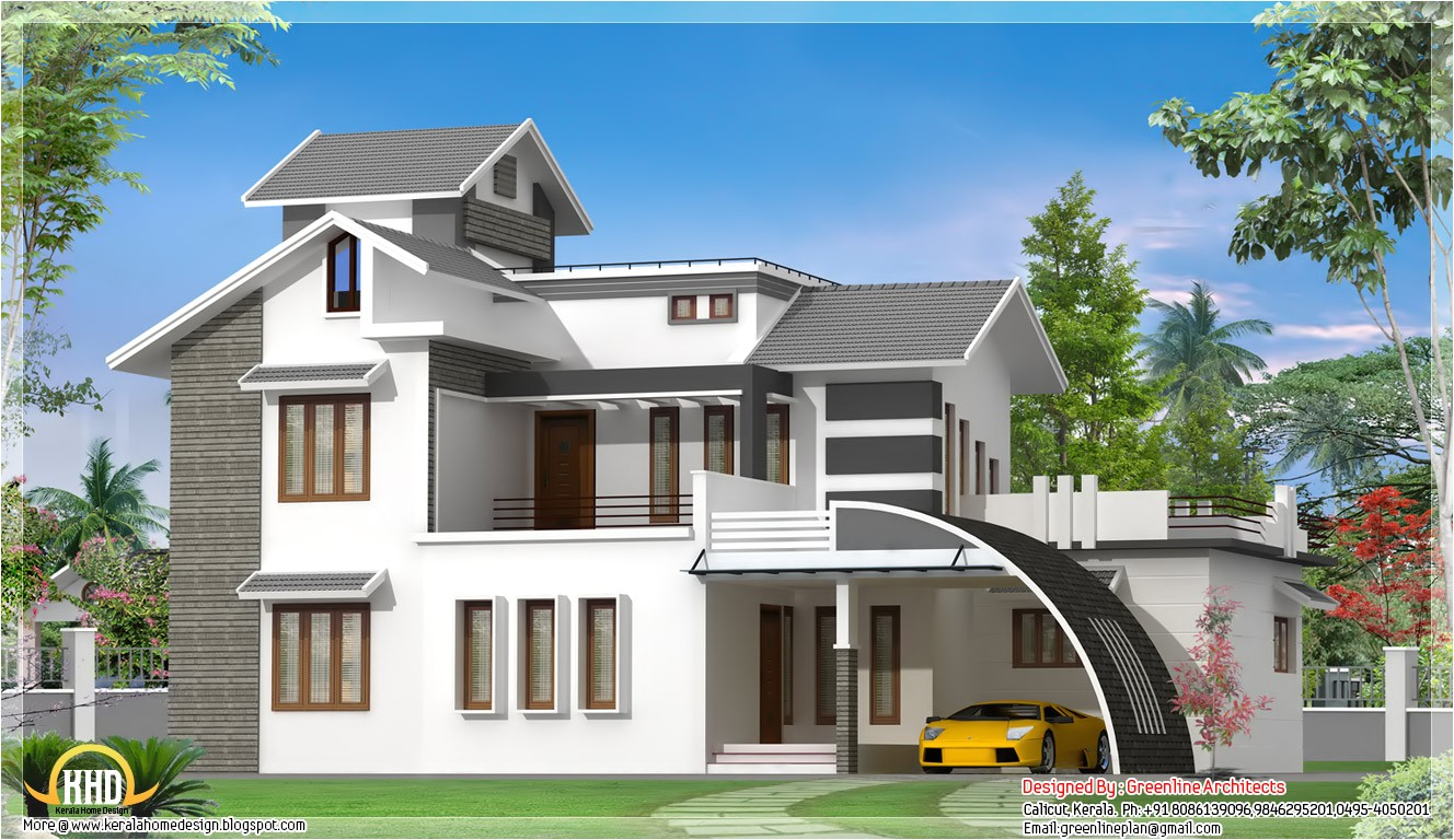 contemporary indian house design 2700
