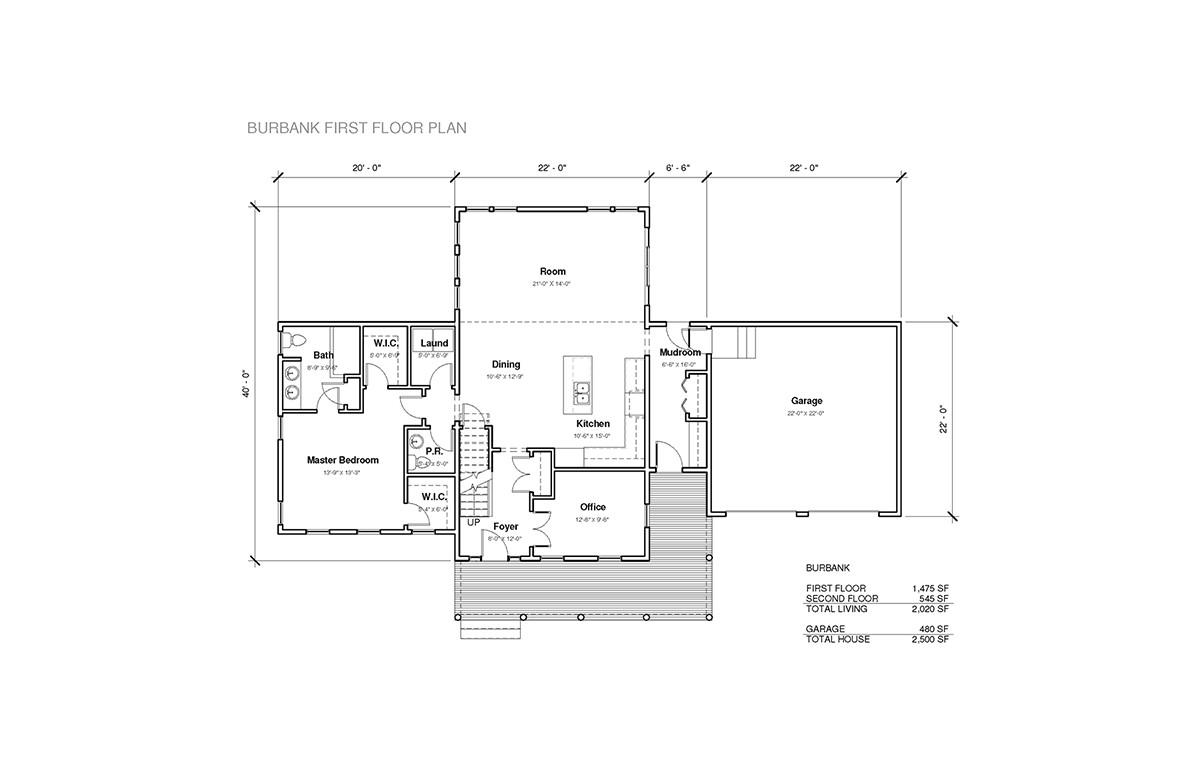 burbank homes floor plans