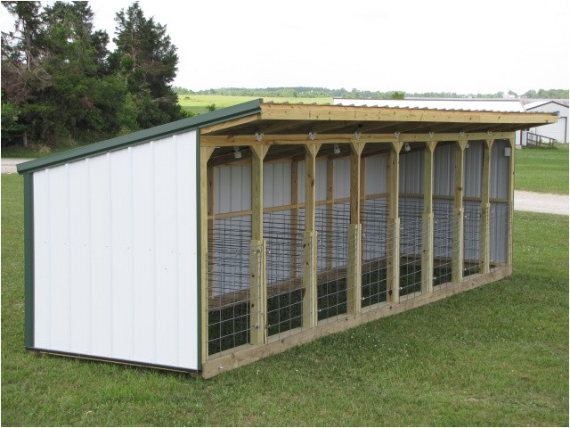 bottle calf shed 6x12
