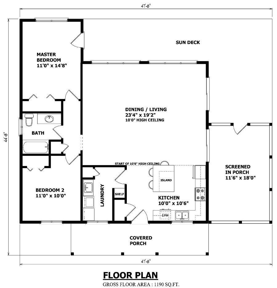 the algonquin cottage plan