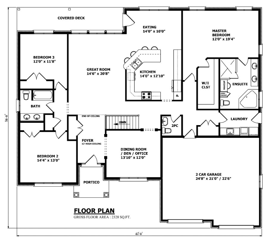 the canada house plan