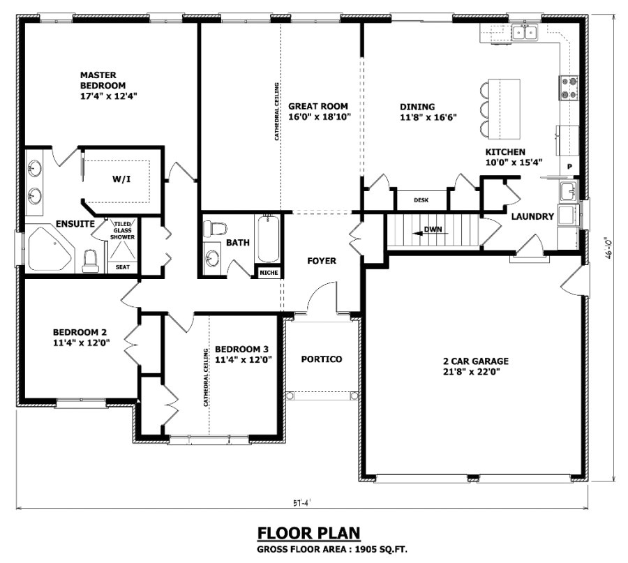 the barrie bungalow house plan