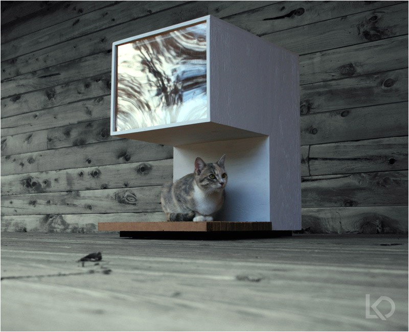build cardboard cat house plans diy tv stand plansorg