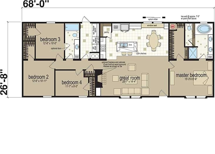 Cardinal Homes Floor Plans Modular Home Cardinal Modular Homes Floor Plans
