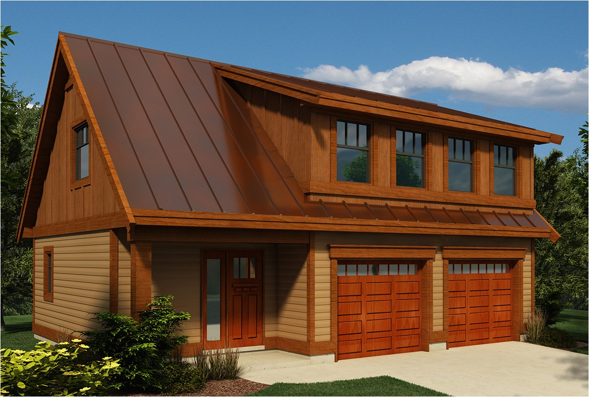 carriage house plan with shed dormer 9824sw