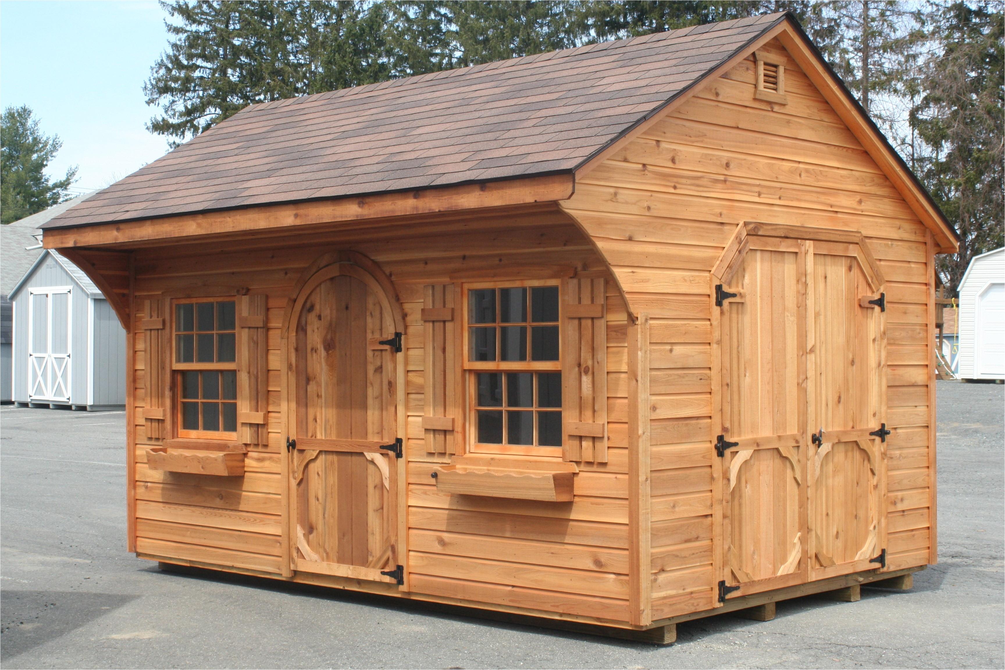 cedar shed plans