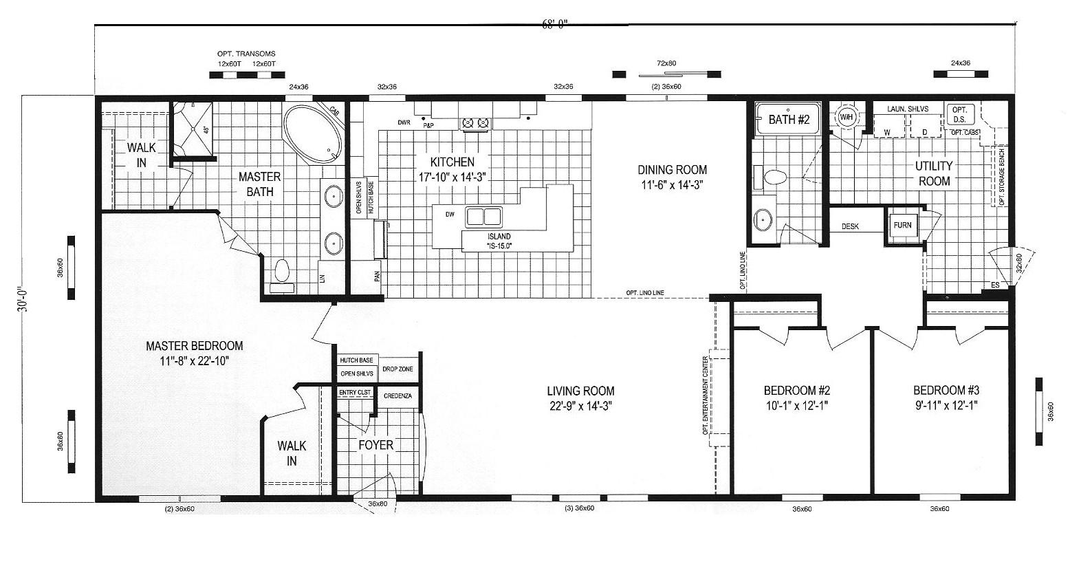 clayton homes floor plans