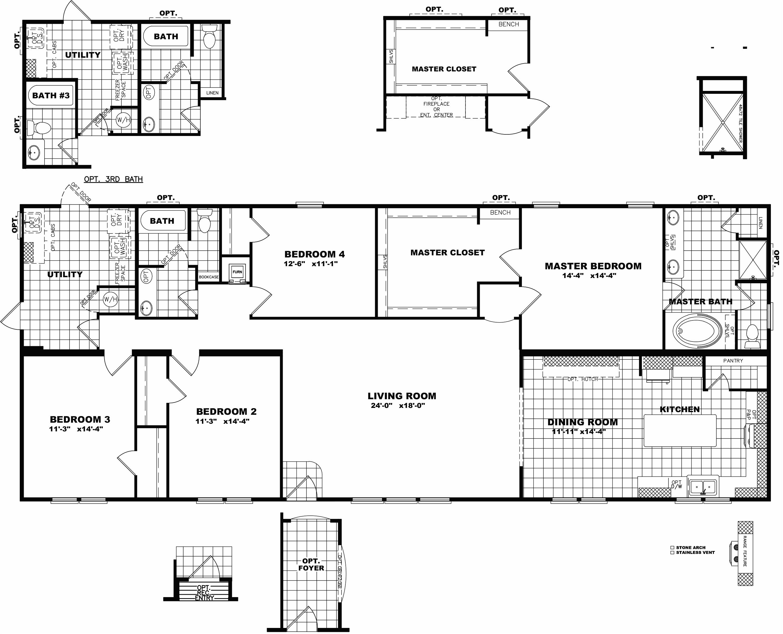triple wide mobile home floor plans delightful clayton modular homes floor plans new triple wide manufactured