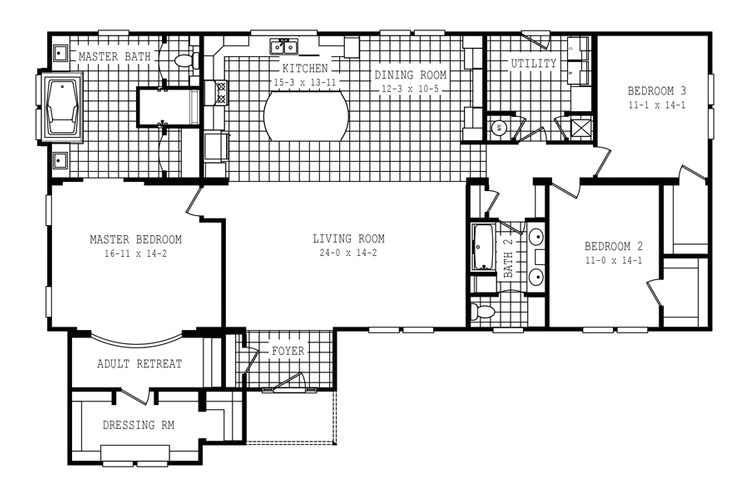 home floor plan cfm modelno 58fre32663cm