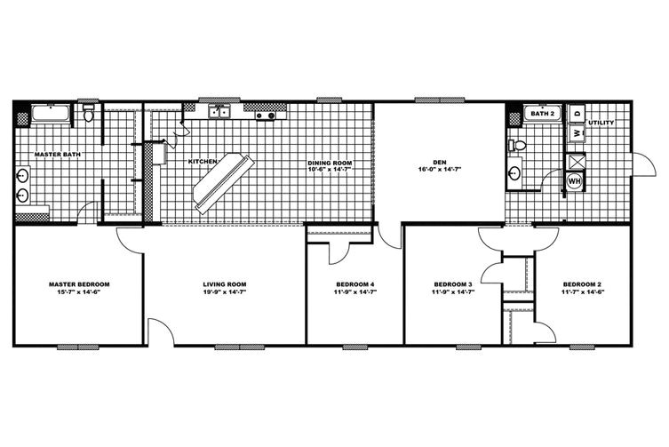 clayton mobile home floor plans and prices