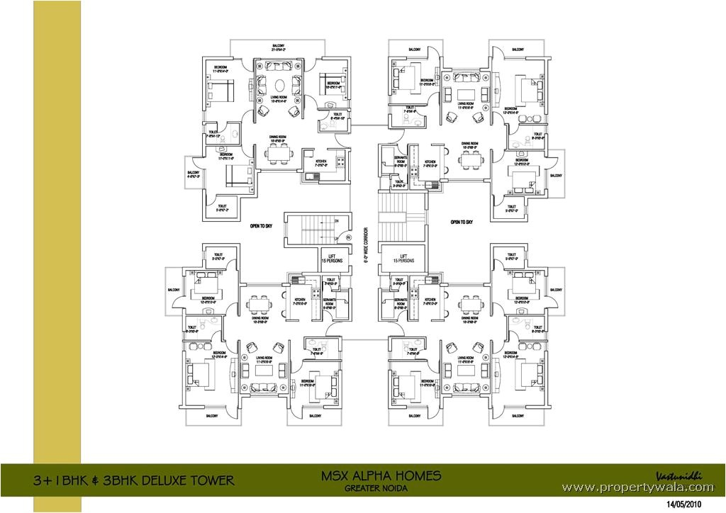 cluster home plans
