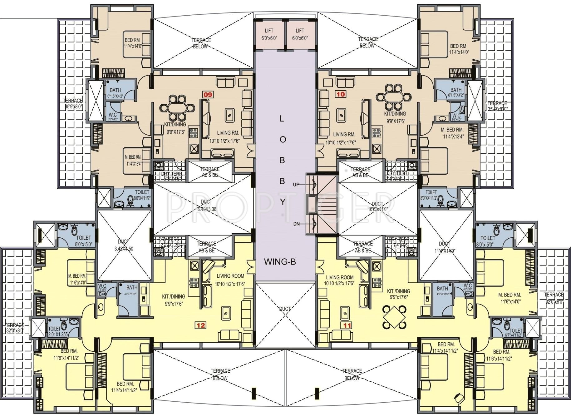 cluster house plans