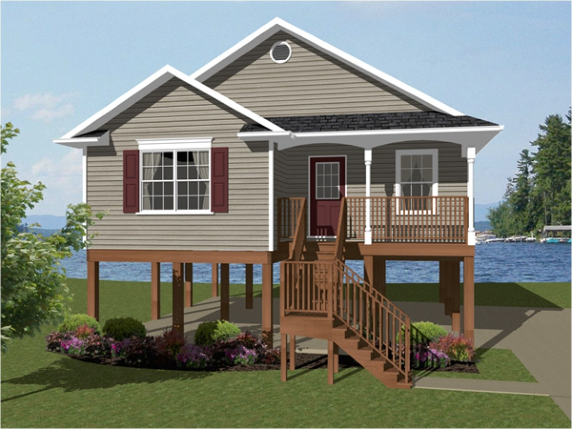 d3242536f4cba66f elevated beach house plans one story house plans