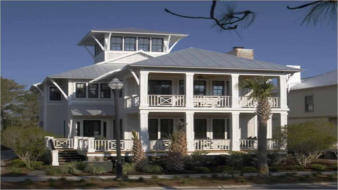 elevated coastal home plans
