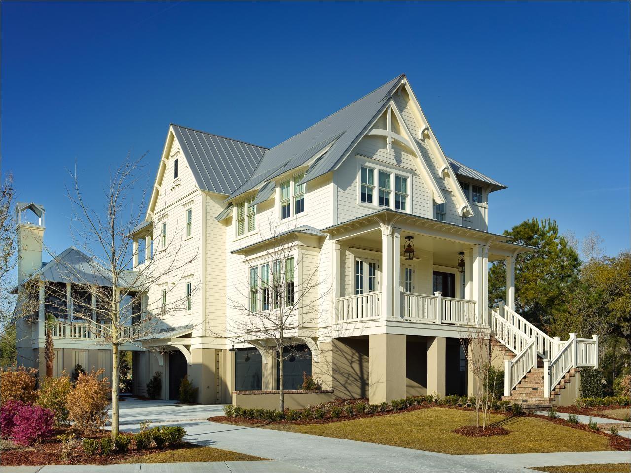 fresh faces of design elevated coastal home