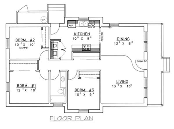 amazing concrete block house plans 7 small concrete block house plans