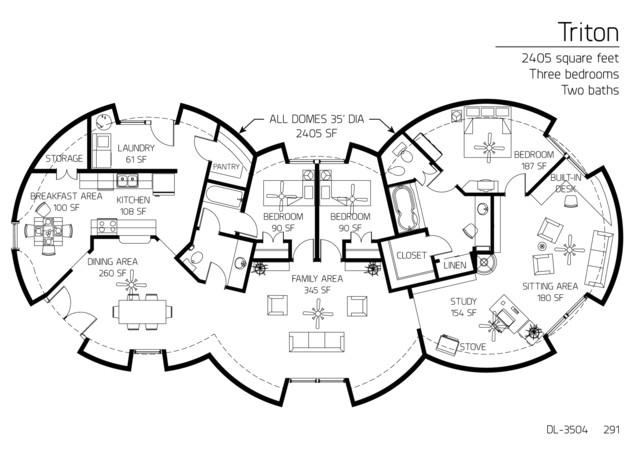 Concrete Dome Home Plan Concrete Dome Homes Floor Plans Gurus Floor