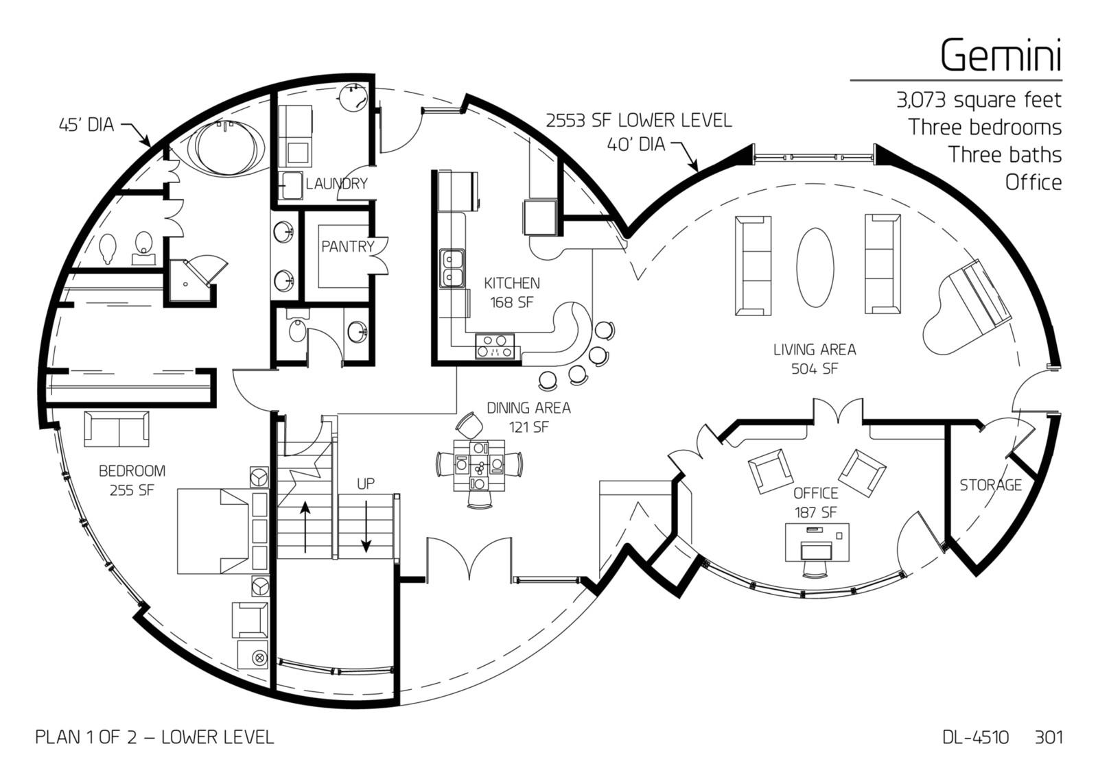 Concrete Dome Home Plan Concrete Dome House Plan Fantastic at Cool Dl 3210u Floor