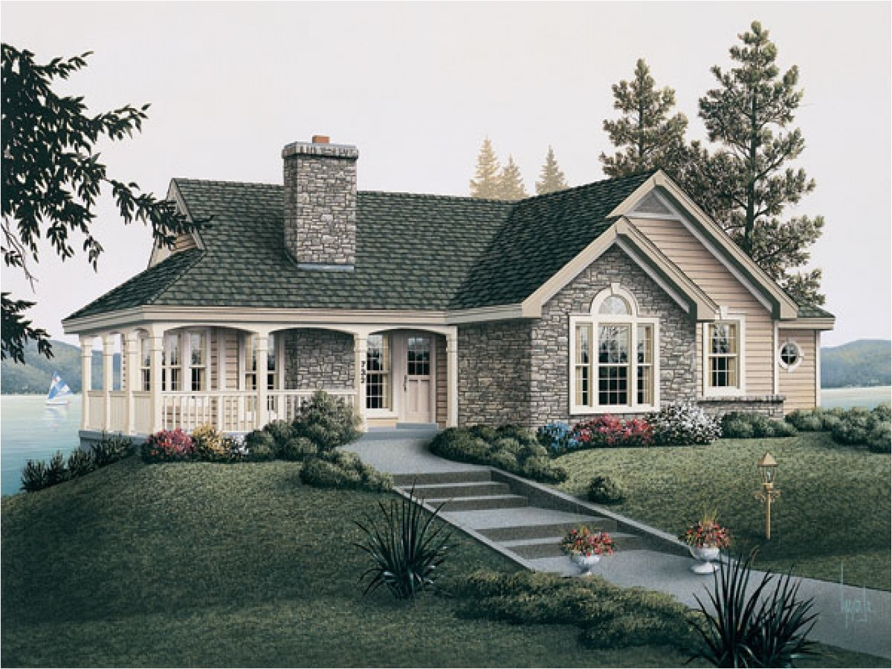 cc8145a56b76d92e country cottage house plans with porches french country cottage house plans